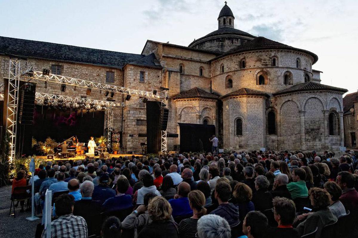 Souillac en Jazz Sim Copans festival in Dordogne Valley in France